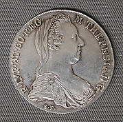 Thaler of Empress Maria Theresa