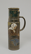 Tankard with woman seated