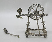Miniature spinning wheel