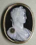 Bust of the Emperor Hadrian (Publius Aelius Hadrianus, 76-138 A.D.)