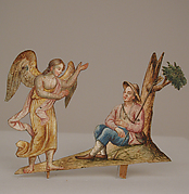 Angel Appearing to Seated Shepherd