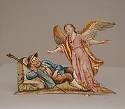 Angel Appearing to Sleeping Shepherd