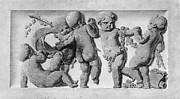 Dancing children (one of a pair)