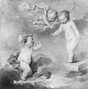Pygmalion and Galatea as Infants