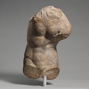 Marble torso of Eros