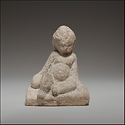 Seated baby