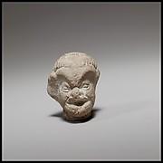 Head of a comic figurine