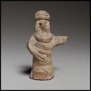 Terracotta standing human figure