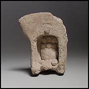 Terracotta model of a shrine