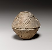 Terracotta biconical spindle-whorl