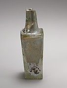 Glass 'Mercury' bottle