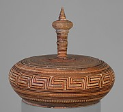 Terracotta pyxis (box with lid)