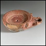 Terracotta lamp