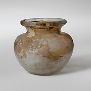 Miniature glass jar
