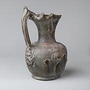 Terracotta jug