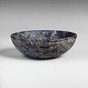 Mosaic glass bowl
