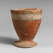 Terracotta goblet