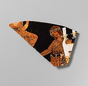 Fragment of a terracotta calyx-krater (mixing bowl)