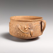 Terracotta cup
