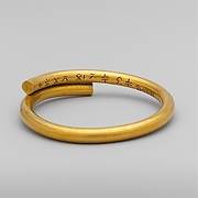 Electrotype copy of a gold bracelet