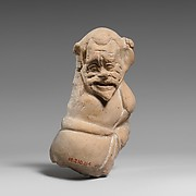 Terracotta fragment of a male figure