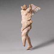 Terracotta statuette of Eros
