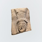Fragment of a terracotta relief