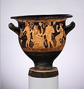 Terracotta bell-krater (vase for mixing wine and water)