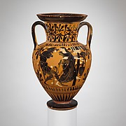 Terracotta neck-amphora
