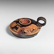 Terracotta strainer