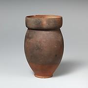 Terracotta beaker