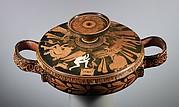 Terracotta lekanis (covered dish)