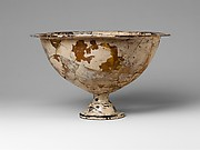 Glass krater (mixing bowl)