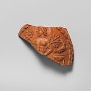 Terracotta jug fragment