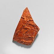 Terracotta bowl fragment