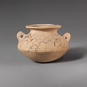 Terracotta alabastron (jar)