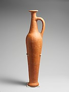 Terracotta spindle bottle