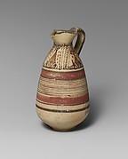 Terracotta juglet