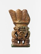 Faience amulet of Bes image