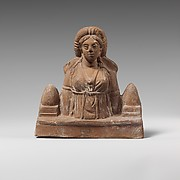 Terracotta statuette