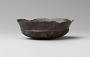 Bronze phiale (libation bowl) with rosette on the bottom