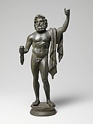 Bronze statuette of Jupiter