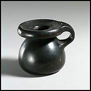 Terracotta perfume pot