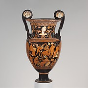 Terracotta volute-krater (mixing bowl)