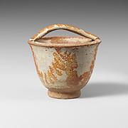 Terracotta situla (bucket)