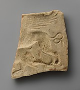 Terracotta mold for a relief