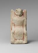 Limestone statuette of Zeus Ammon