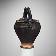 Miniature terracotta situla (bucket)