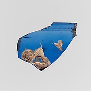 Glass cameo bowl fragment