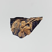 Cameo glass cup (scyphus) fragment